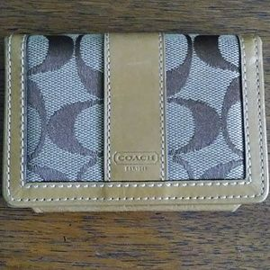 Coach Small Wallet or Business card holder